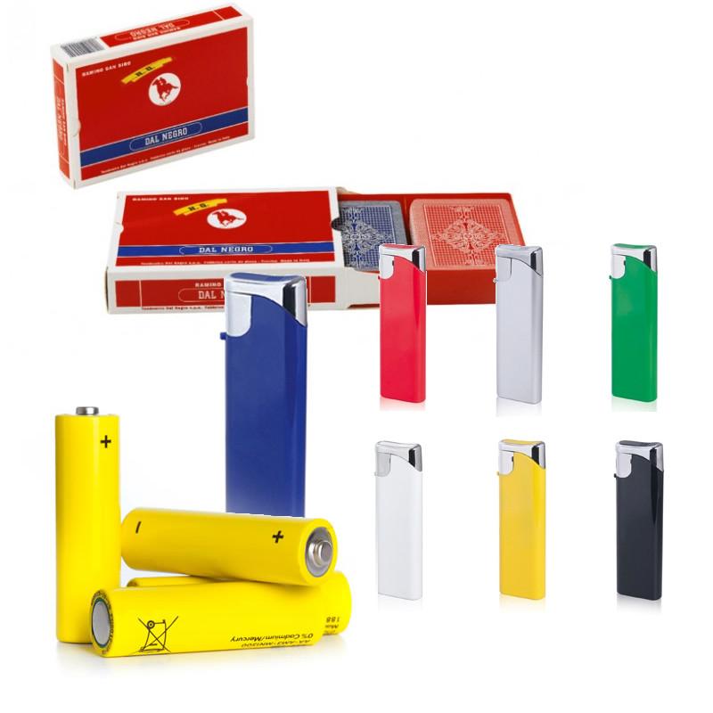 Batterie - Carte da Gioco - Accendini