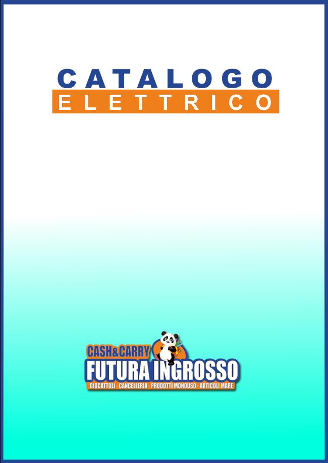 CATALOGO CARTE DA GIOCO, BATTERIE, ELETTRICO