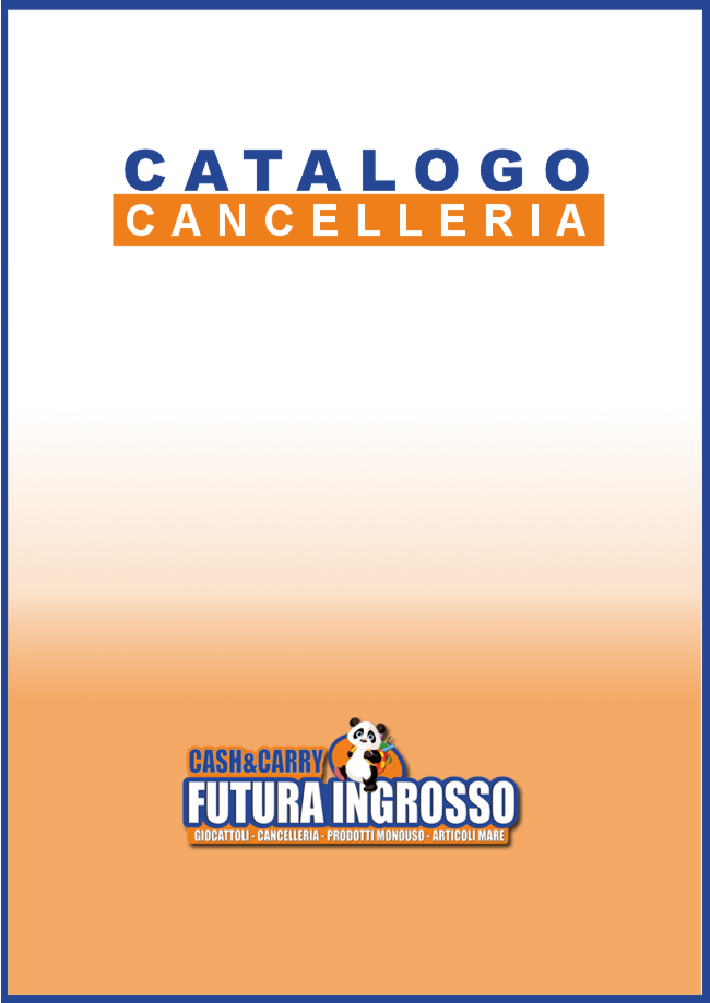 CATALOGO CANCELLERIA