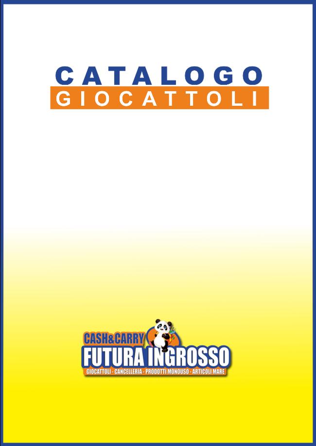 CATALOGO GIOCATTOLO